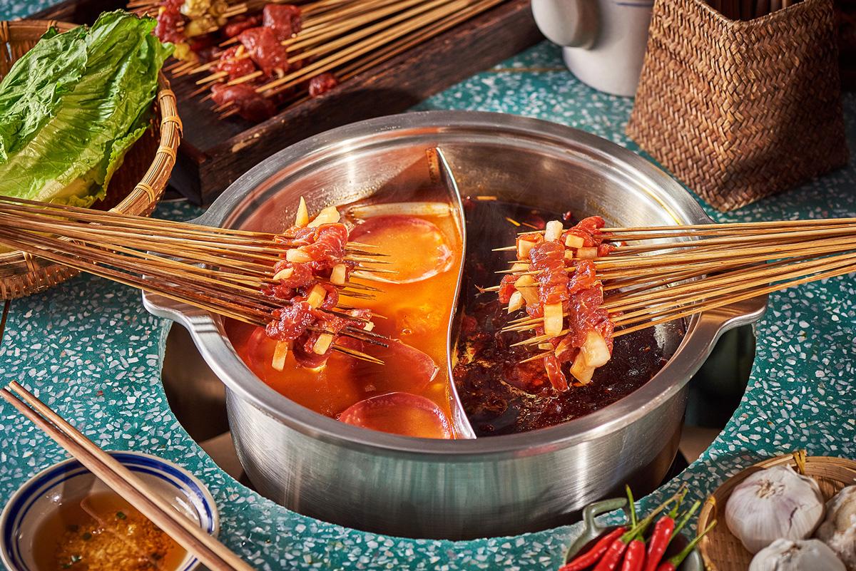 番茄鸳鸯锅底