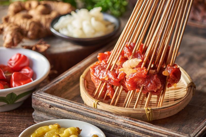 野山椒牛肉串串