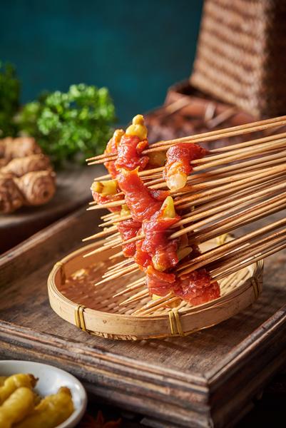 泡山椒牛肉串串