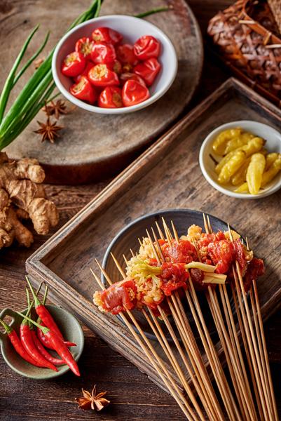花菜牛肉串串