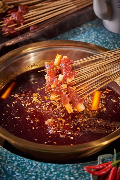 土豆牛肉串串